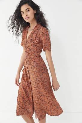 Urban Outfitters Button-Down Midi Shirt Dress