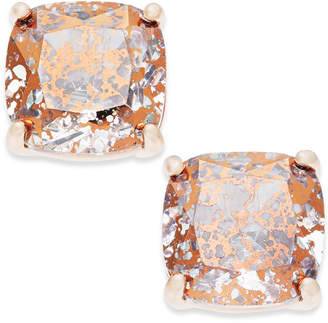 kate spade new york Speckled Stone Square Stud Earrings