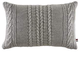 Tommy Hilfiger Oak Bluff Paisley Sail Rope Knit Cotton Lumbar Pillow