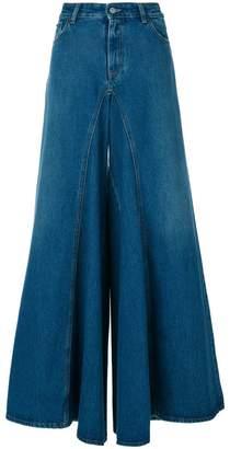 MM6 MAISON MARGIELA flared high waist jeans