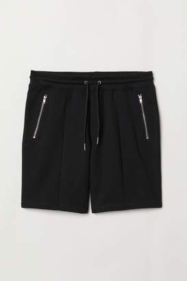 H&M Jersey Sports Shorts - Black
