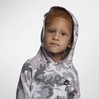 Nike Sportswear Younger Kids'(Boys') Camo Pullover Hoodie