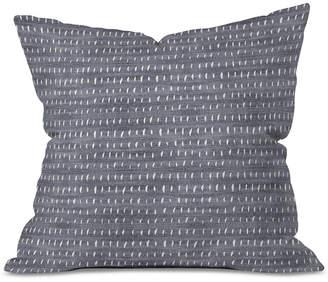 Deny Designs Holli Zollinger Bogo Denim Rain Light Throw Pillow