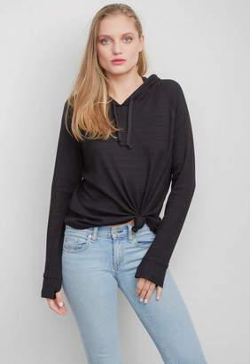 Generation Love Dawn Tie Front Sweatshirt
