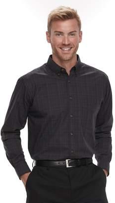 Haggar Men's Weekender Classic-Fit Button-Down Shirt