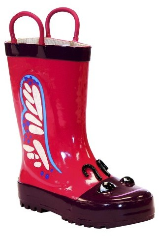 Washington Shoe Company Toddler Girl's Butterfly Rain Boots - Pink