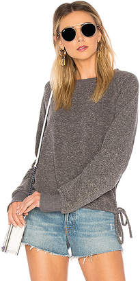 LnA Heathered Cinched Sweatshirt