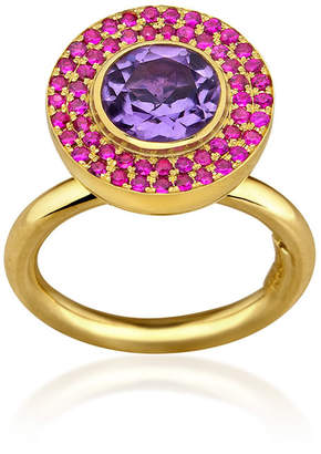 Rubie's Costume Co Elena Votsi Cyclos Ring With And Amethyst
