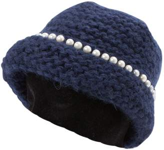 Natasha Zinko Navy Wool Hats
