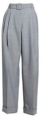 Dries Van Noten Women's Wide-Leg Cropped Trousers