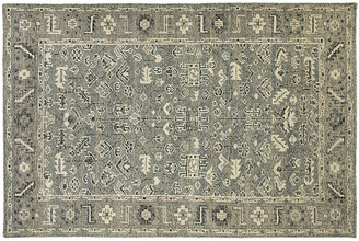 One Kings Lane Carlisle Rug - Spa/Charcoal