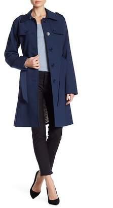 Kate Spade Belted Collar Raincoat