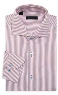 Saks Fifth Avenue Striped Cotton Casual Button-Down Shirt