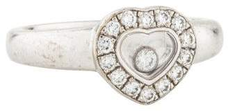 Chopard 18K Happy Diamonds Icons Cocktail Ring