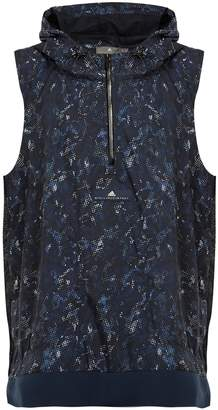 adidas by Stella McCartney Run Adizero abstract camouflage-print gilet