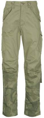 MHI military printed loose trousers