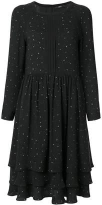 Steffen Schraut layered flared dress