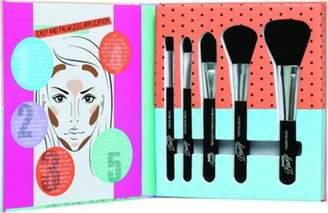 Tools of the Trade Sunkissed Beautiful Bronze Gift Set 1 Foundation Brush + 1 Blusher Brush + 1 Contour Brush + 1 Eyeshadow Brush + 1 Crease Brush