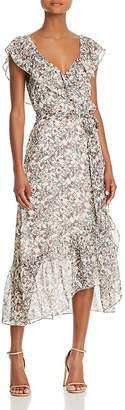 Rebecca Minkoff Jessica Floral Print Wrap Dress