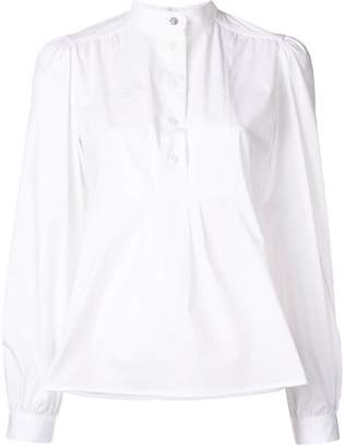 Paul Smith plain structured blouse