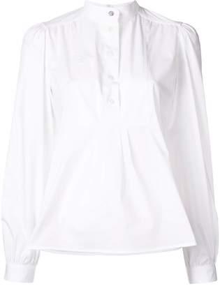 Paul Smith plain structured blouse