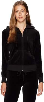 Juicy Couture Black Label Women's Velour Robertson Jacket, S