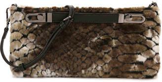 Sondra Roberts Faux Fur Crossbody Bag - Women's
