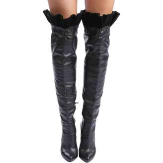 Galliano Vintage Black Leather Boots