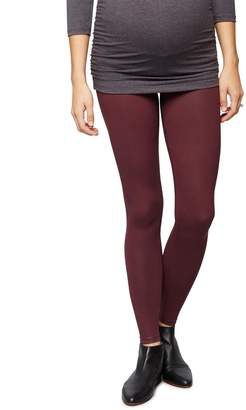 David Lerner Secret Fit Belly Coated Maternity Leggings