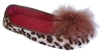 Patricia Green Lola Feather Pompom Slipper