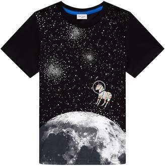 Paul Smith Rusty Moon Print T-Shirt