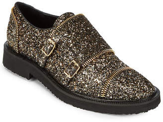 Giuseppe Zanotti Crystallized Mock Strap Leather Oxford