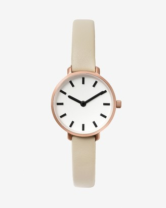 Express Breda Taupe Beverly Watch
