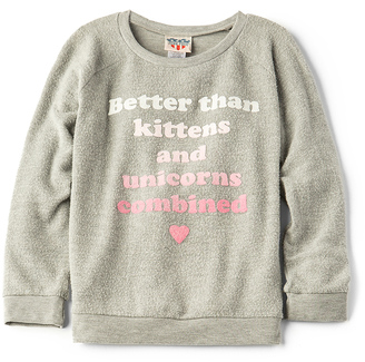Junk Food Kittens & Unicorns Tee $48 thestylecure.com