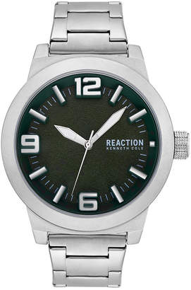 Kenneth Cole Reaction Men's Stainless Steel Bracelet Watch 45mm