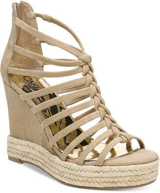 Carlos by Carlos Santana Camilla Platform Wedge Sandals Women Shoes