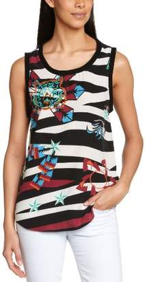 April May Women's Printed Not Applicable SleevelessVest Top