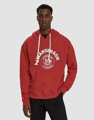 J.W.Anderson University Print Pullover Hoodie