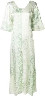 Forte Forte patterned flared dress