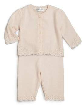 Ralph Lauren Baby Girl's Two-Piece Cashmere Cardigan& Pants Set