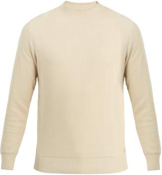 Sunspel Guernsey ribbed-knit cotton sweater