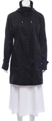 Calvin Klein Hooded Zip Front Jacket