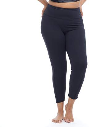 Plus Size Balance Collection Solid Ankle Leggings