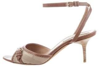 Burberry Nova Check Sandals