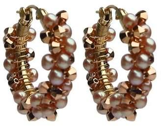 Viv&Ingrid Bijoux Spiral Hoops