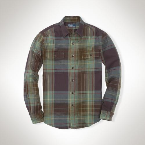 Polo Ralph Lauren Custom-Fit Plaid Workshirt
