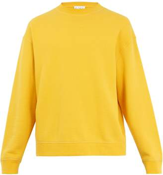 Raey Crew-neck Japanese-jersey sweatshirt