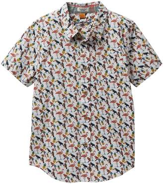 Tailor Vintage Printed Stretch Poplin Shirt (Big Boys)