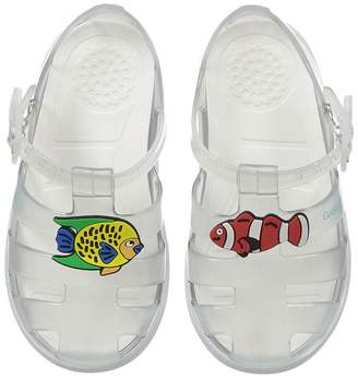 Dolce & Gabbana Clear Jelly Sandal Boys Shoes