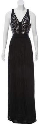 Rebecca Taylor Silk Embellished Gown w/ Tags